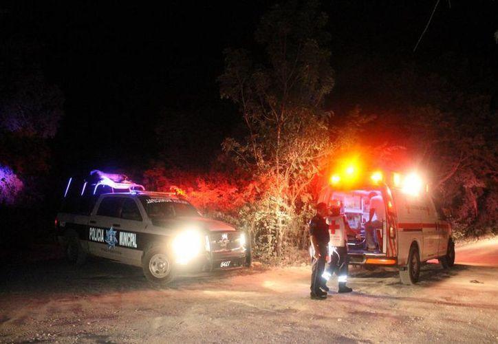 El agraviado fue trasladado al Hospital General en compañía de su cuñado, quien reportó el hallazgo al número de emergencias. (Redacción/SIPSE)