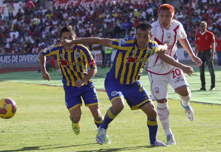 Lobos BUAP desaprovecha su condición de local y pierde ante La Piedad 2-0. (Notimex)