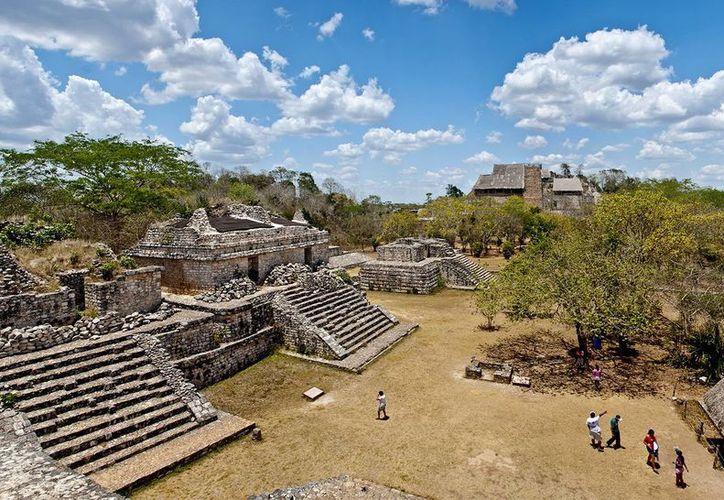 Yucatán tiene numerosos sitios mayas, algunos no explorados y otros ya abiertos al público, como Ek Balam. (Milenio Novedades)