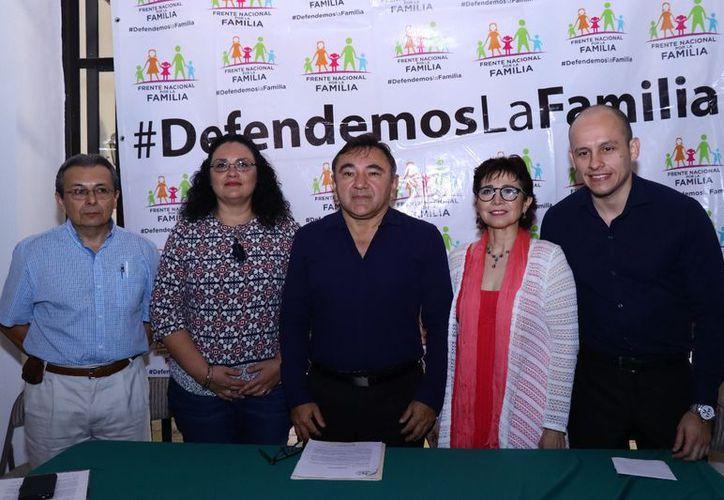 El Frente Nacional por la Familia rechaza propuestas del Gobierno Federal. (Jorge Acosta/SIPSE)