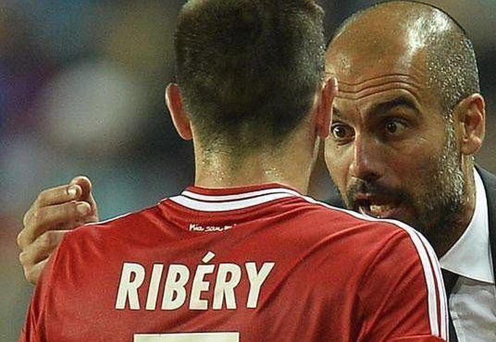 Como consuelo, 'Pep' Guardiola tiene el regreso de Robben. (Foto: Agencias)