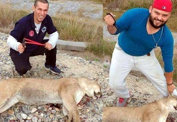 Estas personas serán procesadas por caza ilegal de vida silvestre. (Foto: Reforma)