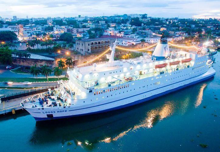 En el barco, además de la amplia gama de libros, se exponen múltiples actividades. (Facebook: Logos Hope)