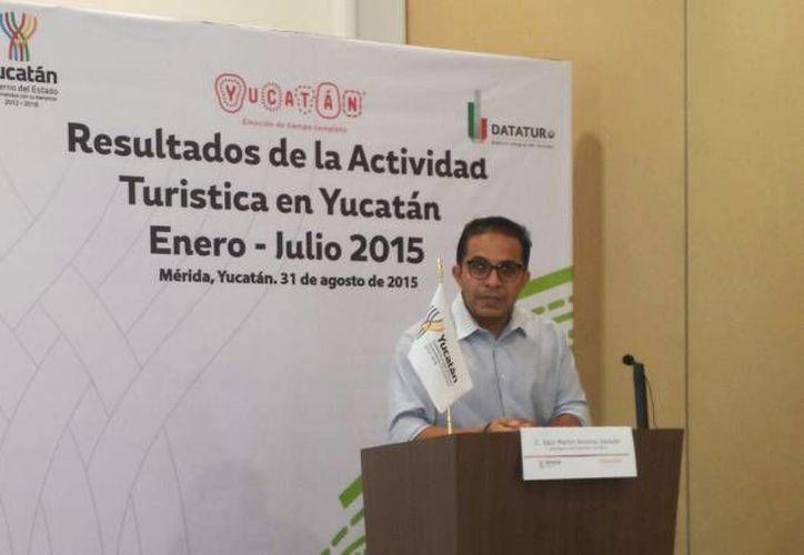 Saúl Ancona: se acordó incentivar los viajes a la ciudad de Mérida desde las ciudades norteamericanas de Houston, Los Ángeles, Chicago y Nueva York. (SIPSE)