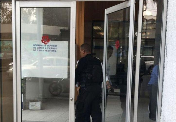 El asalto se registró en una sucursal bancaria ubicada en la colonia Atlántida.(vanguardia.com)