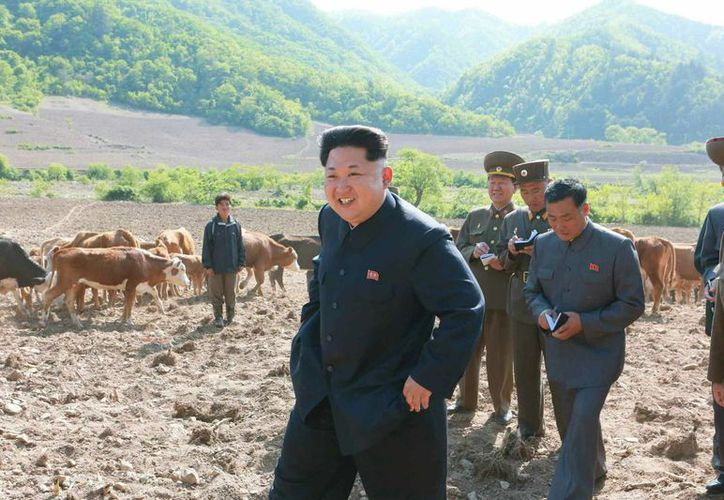 El líder de Corea del Norte, Kim Jong-un, confirmó que por primera vez que poseen una bomba de hidrógeno. (Archivo/EFE)