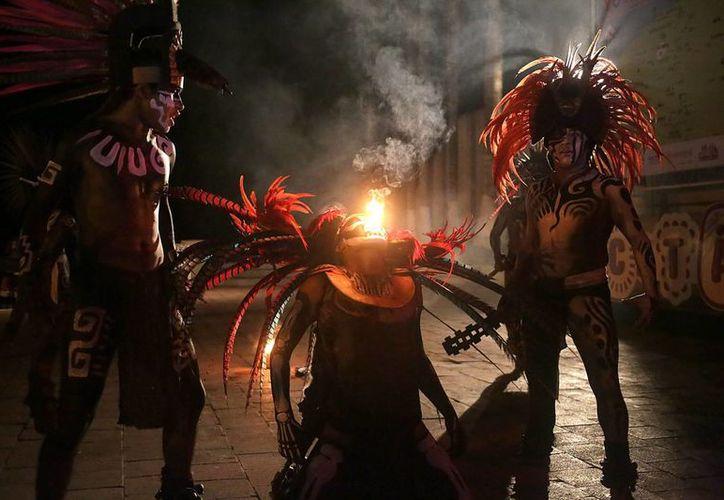 El espectáculo 'Noches de Kukulcán, que se realiza en la zona arqueológica de Chichén Itzá,  será gratis todo noviembre. (Notimex)