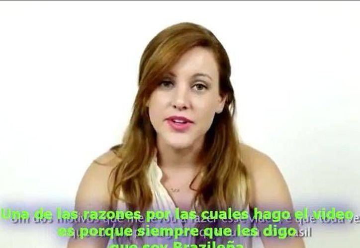 Carla Dauden nunca imaginó lo que su video podía desatar. (peru.com)