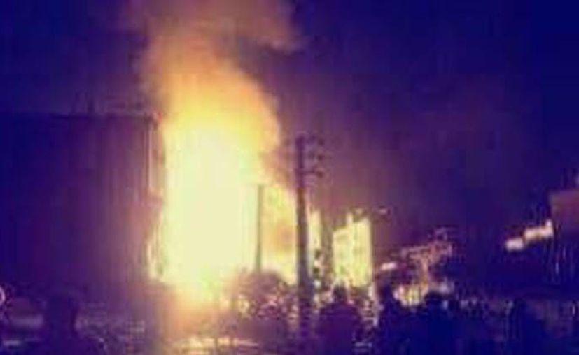 El ataque explosivo se registró en el consulado de Alemania en la ciudad afgana de Mazar-i-Sharif. (Actualidad RT)