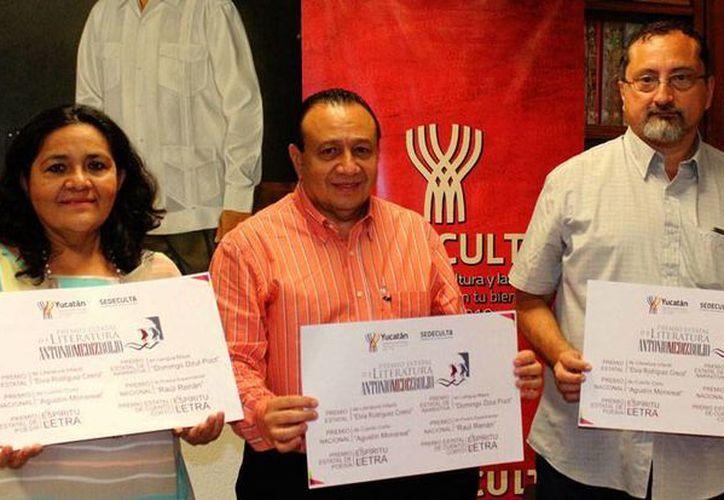 La Sedeculta lanzó una convocatoria 'en paquete' para diversos premios literarios en todo el país. (Milenio Novedades)