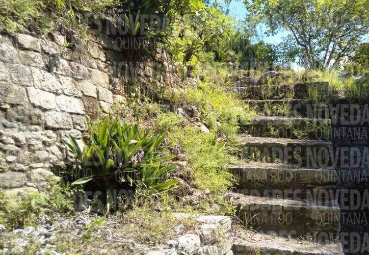 Los primeros trabajos de exploración arqueológica en Ichkabal comenzaron en 2009; en el lugar, prácticamente todo está por conocerse. Redacción/SIPSE)