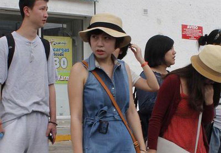 El arribo de turismo japonés al destino se mantiene en 60 mil visitantes anuales. (Redacción/SIPSE)