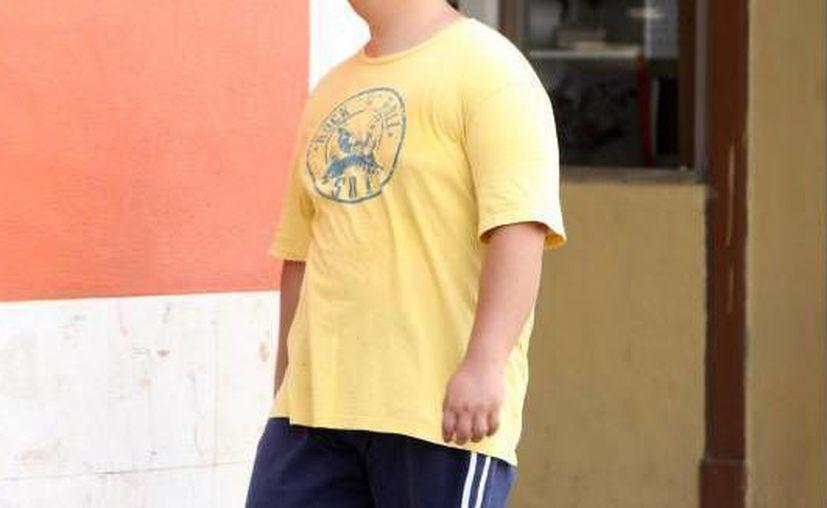 Los niños de entre cinco y doce años en Yucatán son los más propensos a tener problemas de obesidad. (Sipse/Archivo)