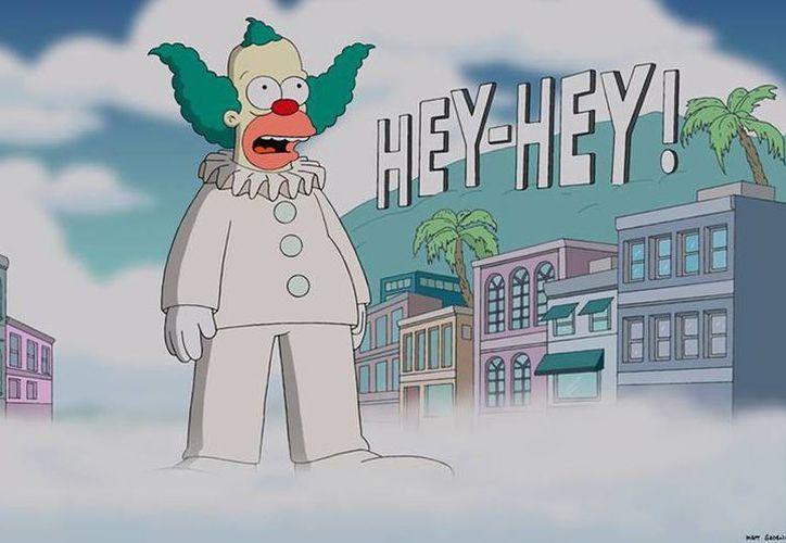 Comienzan Los Simpsons nueva temporada matando al rabino Hyman Krustofski, padre de Krusty el payaso. (Facebook/The Simpsons)