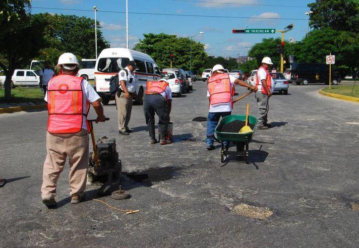 En los trabajos el Ayuntamiento invertirá dos millones de pesos. (Tomás Álvarez/SIPSE)