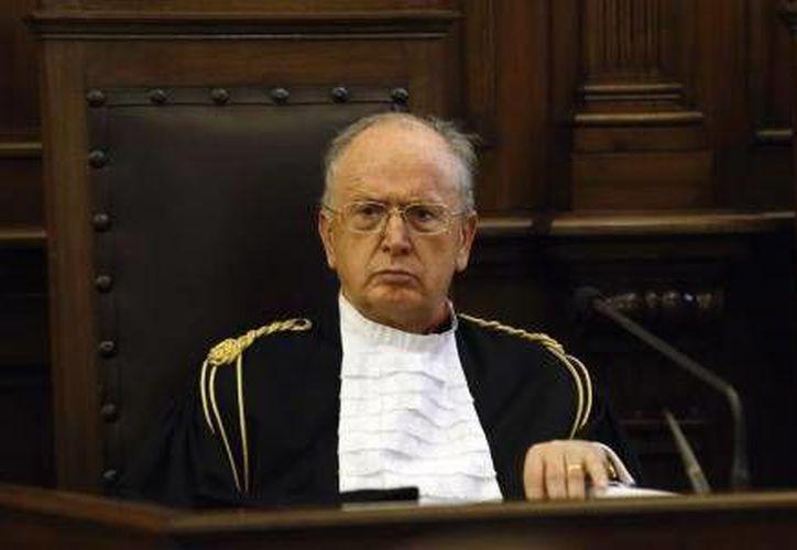 El fiscal general del Vaticano Giuseppe Dalla Torre comparece en el tribunal del Vaticano el 31 de enero de 2015. (Reuters)