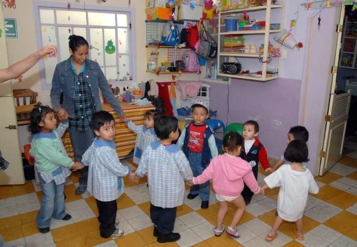 La estancias del Issste atienden a niños desde 45 días hasta seis años de edad. (Milenio Novedades)