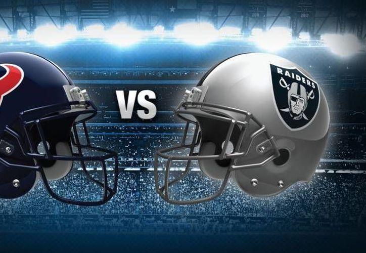 Raiders vs Houston se enfrentarán en el estadio Azteca en noviembre próximo. (Foto tomada de lopezdoriga.com)