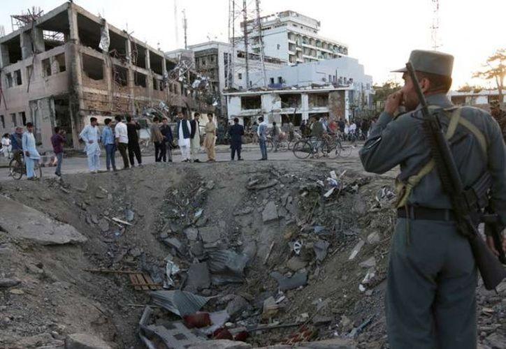 El jefe del Estado Islámico en Afganistán, Abu Sayed, fue abatido por fuerzas estadounidenses en la provincia de Kunar. (AP).