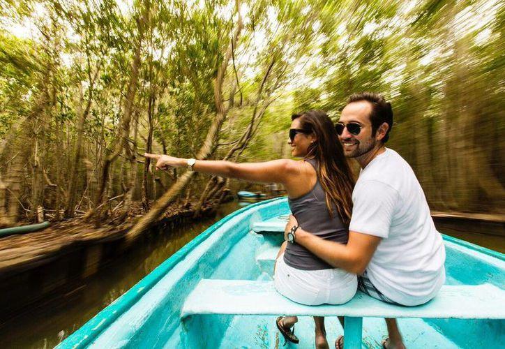 La Reserva de 'El Corchito', en el municipio de Progreso, ha cobrado gran importancia debido a sus ojos de agua cristalinos que invitan a refrescarse. (Cortesía)