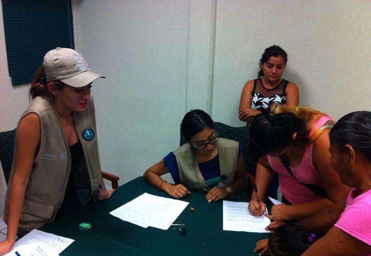 Busca a beneficiarios del programa de Seguro de Vida. (Paloma Wong/SIPSE)