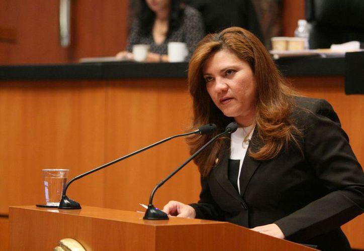 La senadora Rosa Adriana Díaz Lizama. (Cortesía)