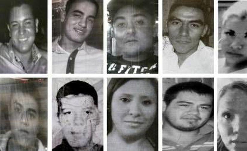 Los cuerpos de los plagiados en el bar Heaven del DF fueron hallados en una fosa clandestina en el Estado de México. (Milenio)