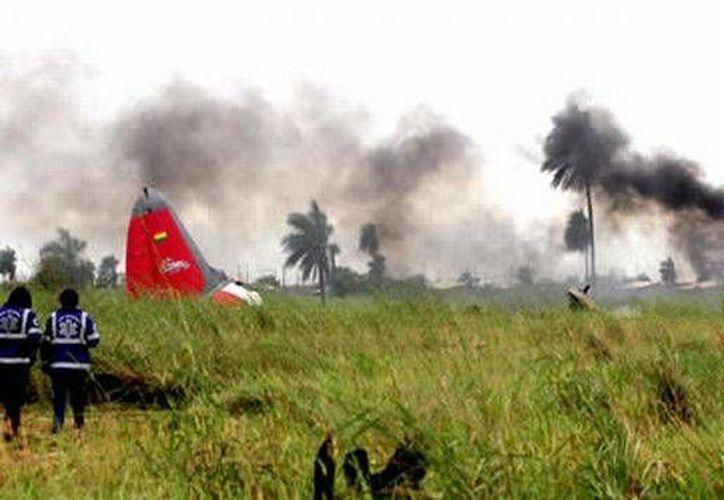 La avioneta tipo Cessna cayó en una estancia ganadera en la zona de Trinidad, al norte de La Paz. (Imagen estrictamente referencial/peru21.pe)
