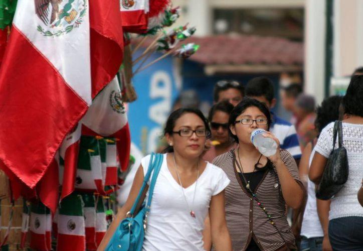 El domingo se registró una jornada calurosa en Mérida. (Christian Ayala/SIPSE)