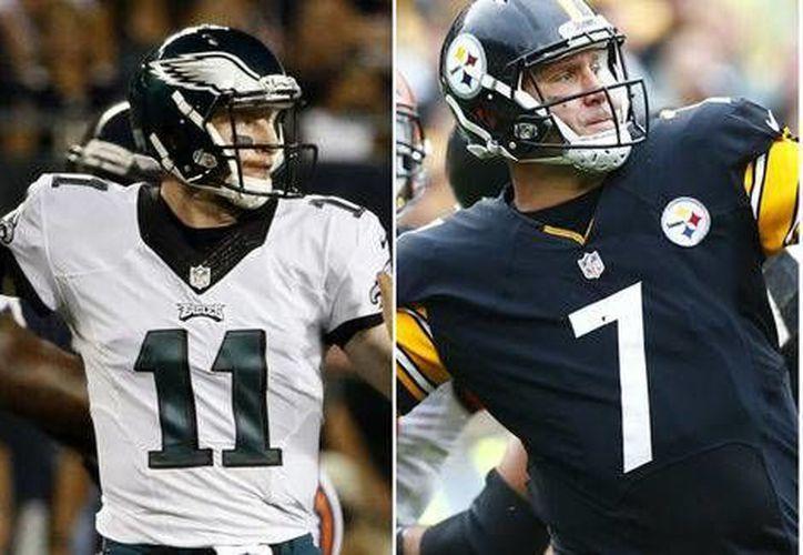 Acereros y Águilas, ambos equipos de Pensilvania se enfrentan esta tarde buscando mantener el invicto, en la NFL. (Milenio Digital)