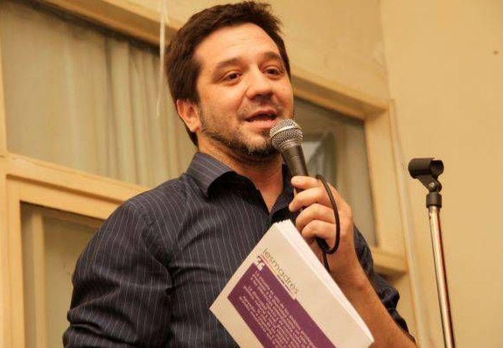 Martín Canevaro, activista por la diversidad sexual en Argentina, indicó que la comunidad transexual enfrenta también problemas en la inclusión laboral. (letrap.com.ar)