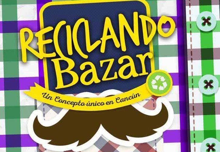 Reciclando Bazar es un concepto único en Cancún donde encontrarás, mercado orgánico. (Contexto/Internet)