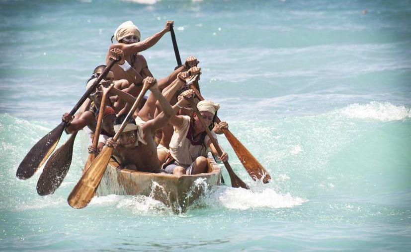 A partir de las 5:30 horas, del 24 de mayo, los canoeros saldrán de Xel-Há para realizar el viaje hasta Cozumel. (Redacción/SIPSE)