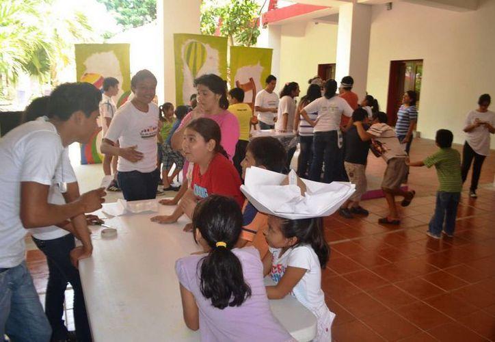 Este tipo de actividades  buscan conducir a niñas y niños hacia una vida feliz y productiva, con el acercamiento a las manifestaciones artísticas y culturales. (Cortesía)