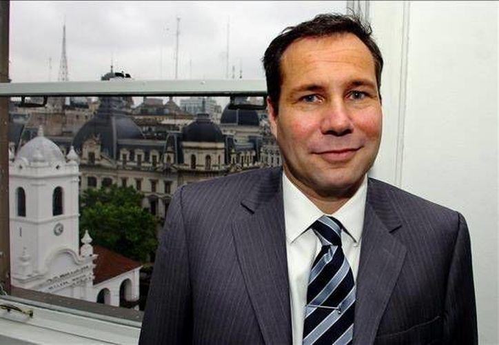 La ex esposa de Alberto Nisman, fiscal argentino asesinado en enero de 2015, dijo que su muerte fue <i>un homicidio preparado por alguien muy inteligente y con mucha perversión</i>. En la imagen, el fallecido fiscal argentino. (EFE)