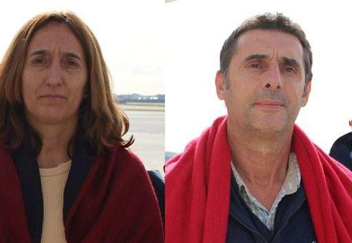 Hacía 22 años que las autoridades perseguían a Itzíar Alberdi Uranga, María (foto) y a Juan Jesús Narváez Goñi, Pajas. (politica.elpais.com)