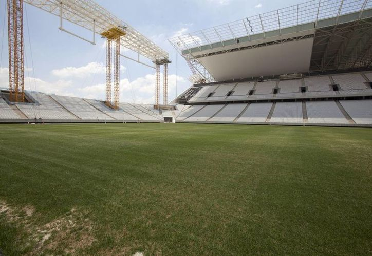 El estadio Arena Corinthians de Sao Paulo será la sede del partido de apertura del Mundial de Fútbol Brasil 2014. (EFE/Archivo)
