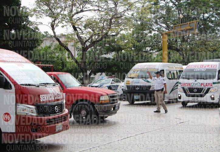 Los policías llegaban a un acuerdo con los conductores que cometían alguna falta. (Verónica Fajardo/SIPSE)