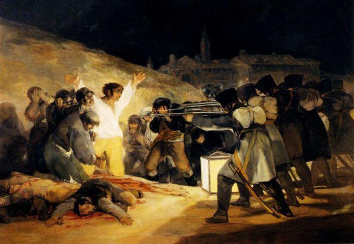 El fusilamiento, que ahora se aprueba en Utah, Estados Unidos, ha sido un método de ejecución reconocido a través de los siglos. La imagen corresponde al cuadro 'Los fusilamientos del 3 de mayo de 1808' del pintor español Francisco de Goya (miguelgual.com)