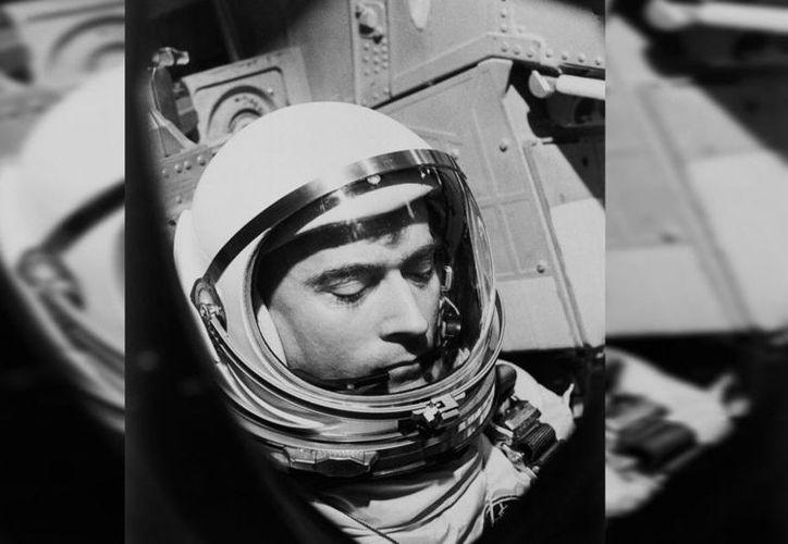 John Young viajó seis veces al espacio. (AP)