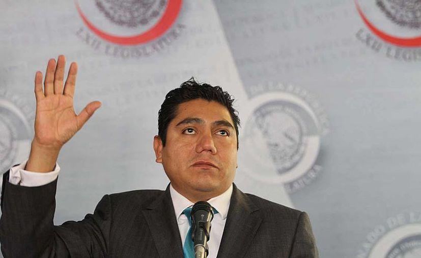 Jorge Luis Preciado: no hay voluntad del PRD de atorar ningún impuesto. (Notimex)