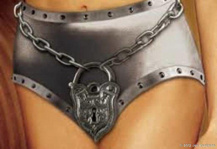 El uso de un mecanismo para evitar la infidelidad sexual de una mujer es antiguo. (Internet)
