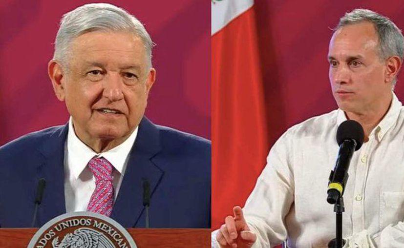 El presidente Andrés López Obrador no requiere hacerse la prueba por ser contacto del Secretario de Hacienda, asegura el Subsecretario de Salud, Hugo López-Gatell, (Foto: Twitter).