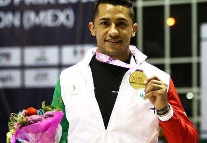 El mexicano Jahir Ocampo (foto) ganó la medalla de oro en el Grand Prix, la de plata fue para el francés Matthieu Rosset y el canadiense Philippe Gagne se quedó con el bronce. (Conade)