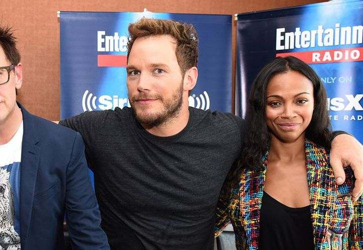 Chris Pratt y Zoe Saldaña usaron sus respectivas redes sociales para expresarse sobre el director James Gunn. (Foto: Entertainment Tonight)