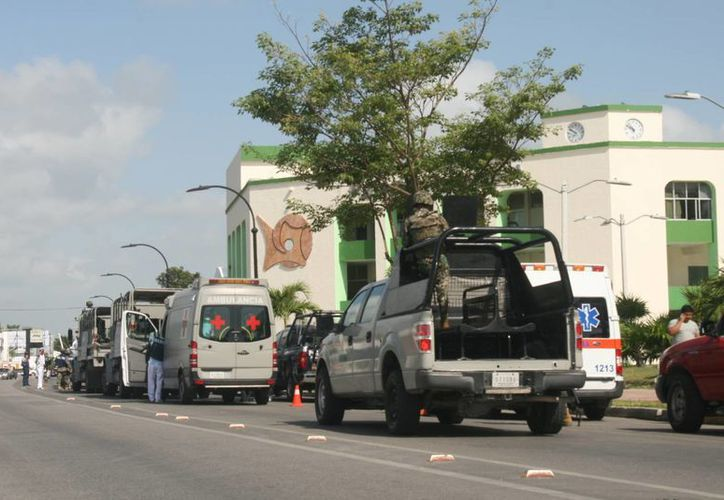 Los operativos de la Procaduría o de Bases de Operaciones Mixtas (BOM), resguardan las fronteras ante la entrada de ilegales. (Harold Alcocer/SIPSE)