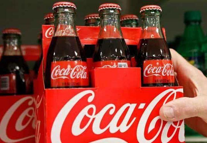 Coca- Cola es una de las 10 empresas que se encuentran en la lista. (Archivo/Reuters)