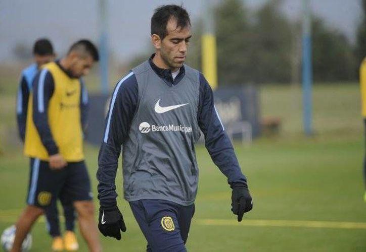César Delgado dio positivo a una prueba de control durante la edición pasada de la Copa Libertadores. (Foto tomada de sitio oficial/Rosario Central)
