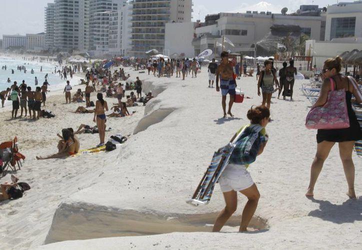 Crece la afluencia turística en los destinos del estado. (Israel Leal/SIPSE)