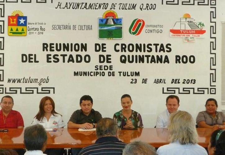 La reunión se realizó en el Ayuntamiento de Tulum. (Cortesía/SIPSE)